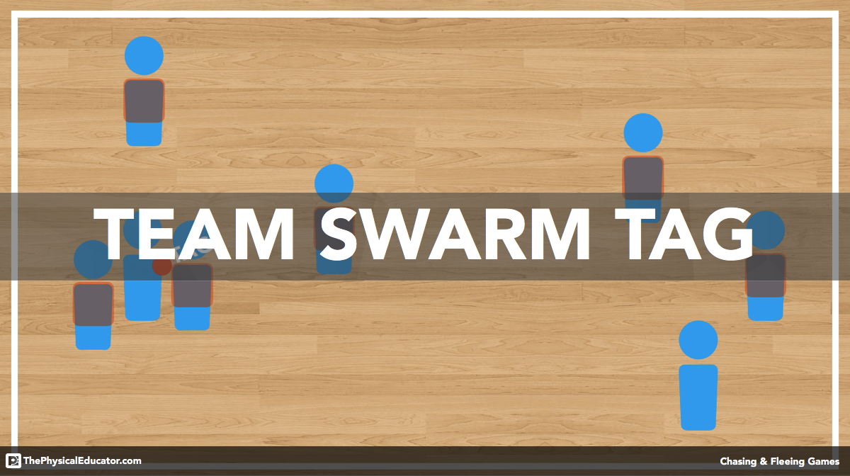 Team Swarm Tag - Physical Education