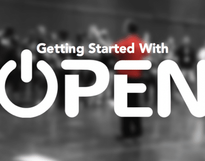Getting Started With OPEN