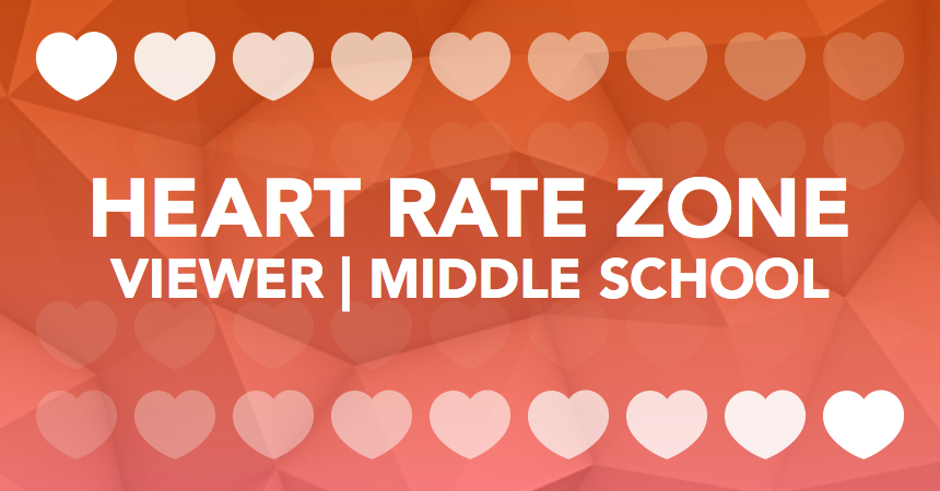 Heart Rate Zone Viewer Middle School