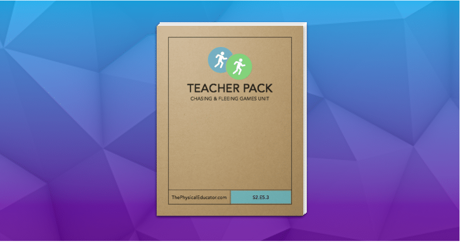 Chasing and Fleeing Games Unit Teacher Pack