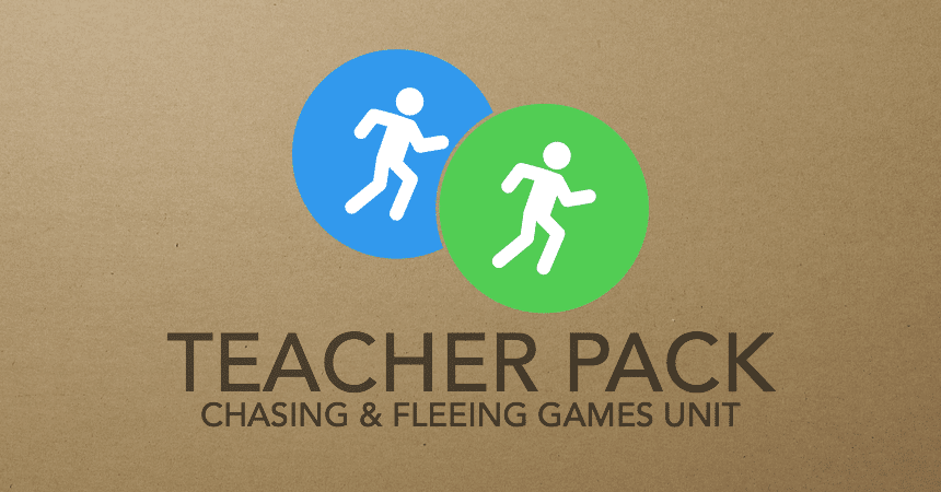 The Great Unpacking - Chasing and Fleeing Tactics and Games Teacher Pack