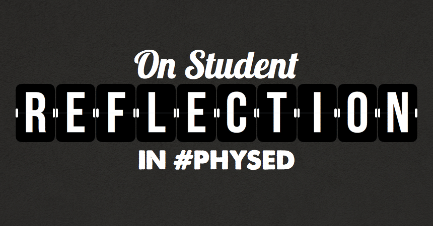 Student-Reflection-In-Physical-Education