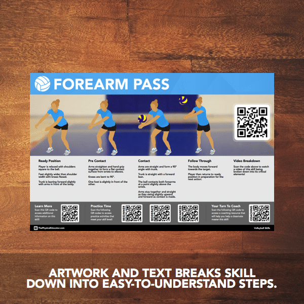 QR Volleyball Passes