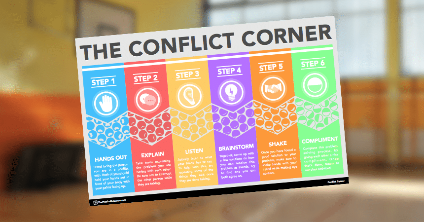 Conflict Corner Physical Education