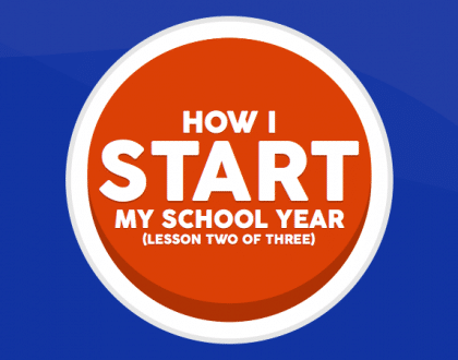 How I Start My School Year: Lesson Two