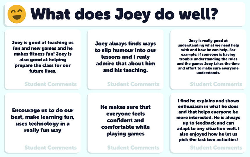 What Does Joey Do Well