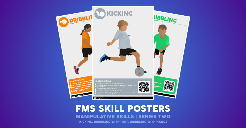 FMS Skill Poster Manipulative Series Two Promo