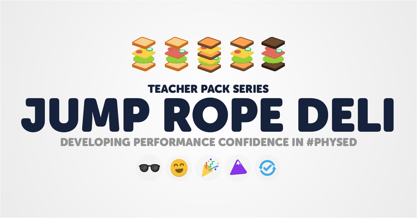 Jump Rope Deli: Developing Performance Confidence In Physical Education