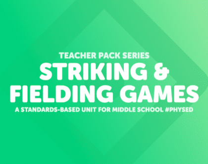The Striking & Fielding Games Teacher Pack