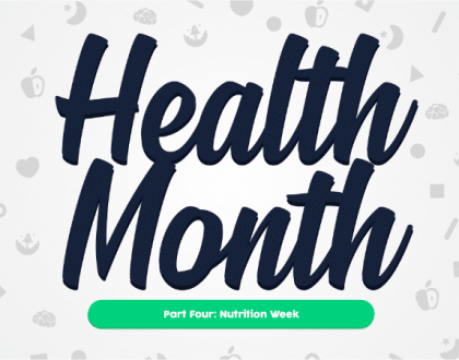 Health Month: Nutrition Week
